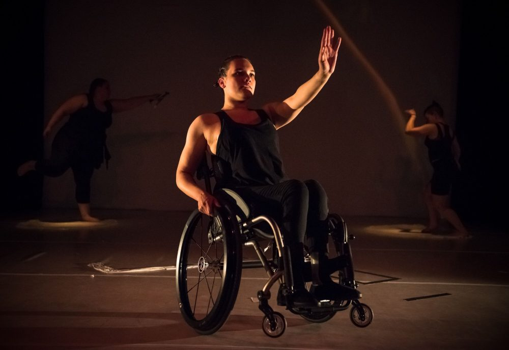 'Very Excellent Disabled Dancing' (2020), Riana Head-Toussaint. Photo by Gregory Lorenzutti for Dancehouse.