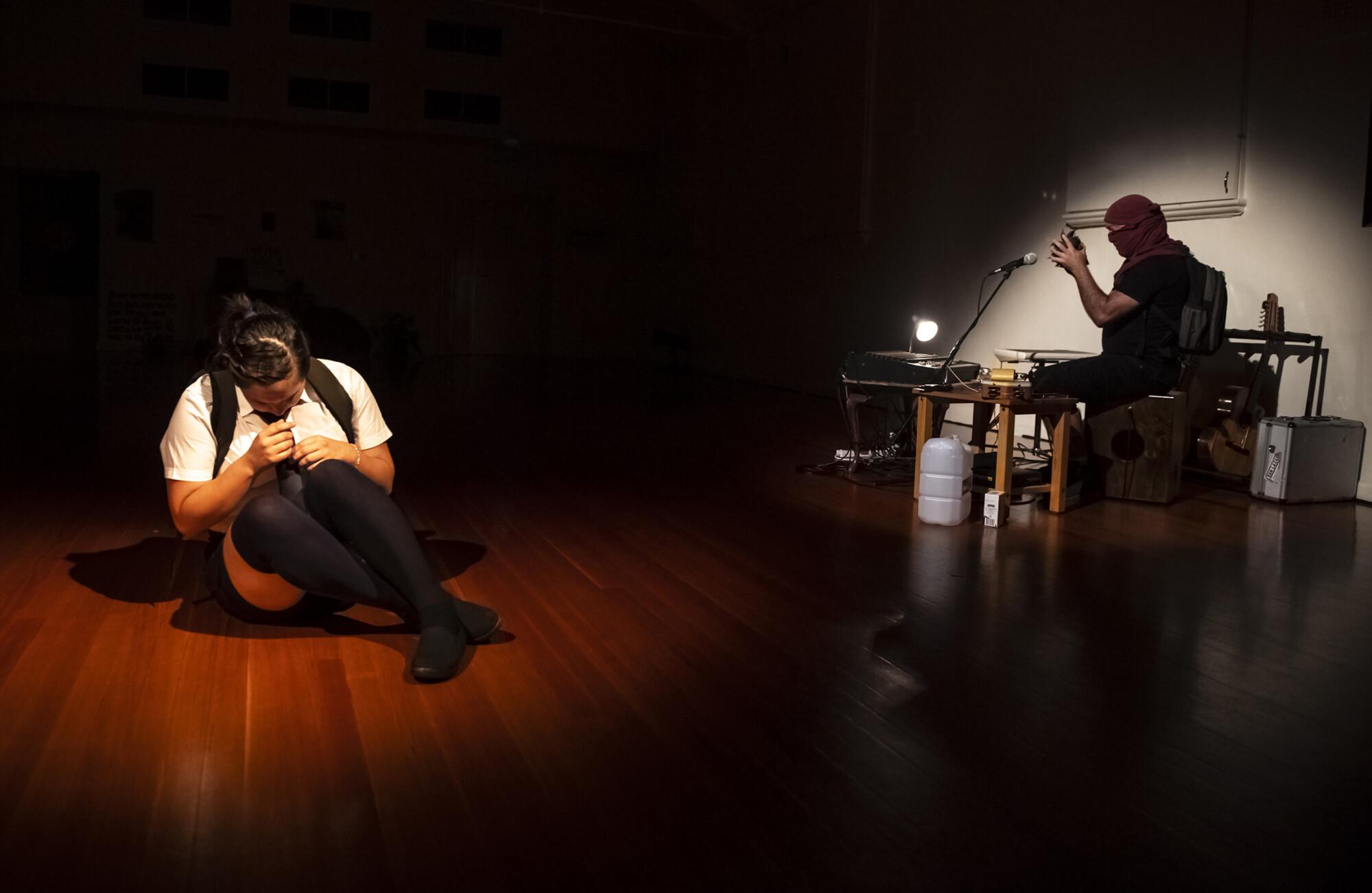 'Memoria del Cuerpo Vivo' (2021), Gabriela Green Olea & Oscar Poncell. Photo by Gregory Lorenzutti.