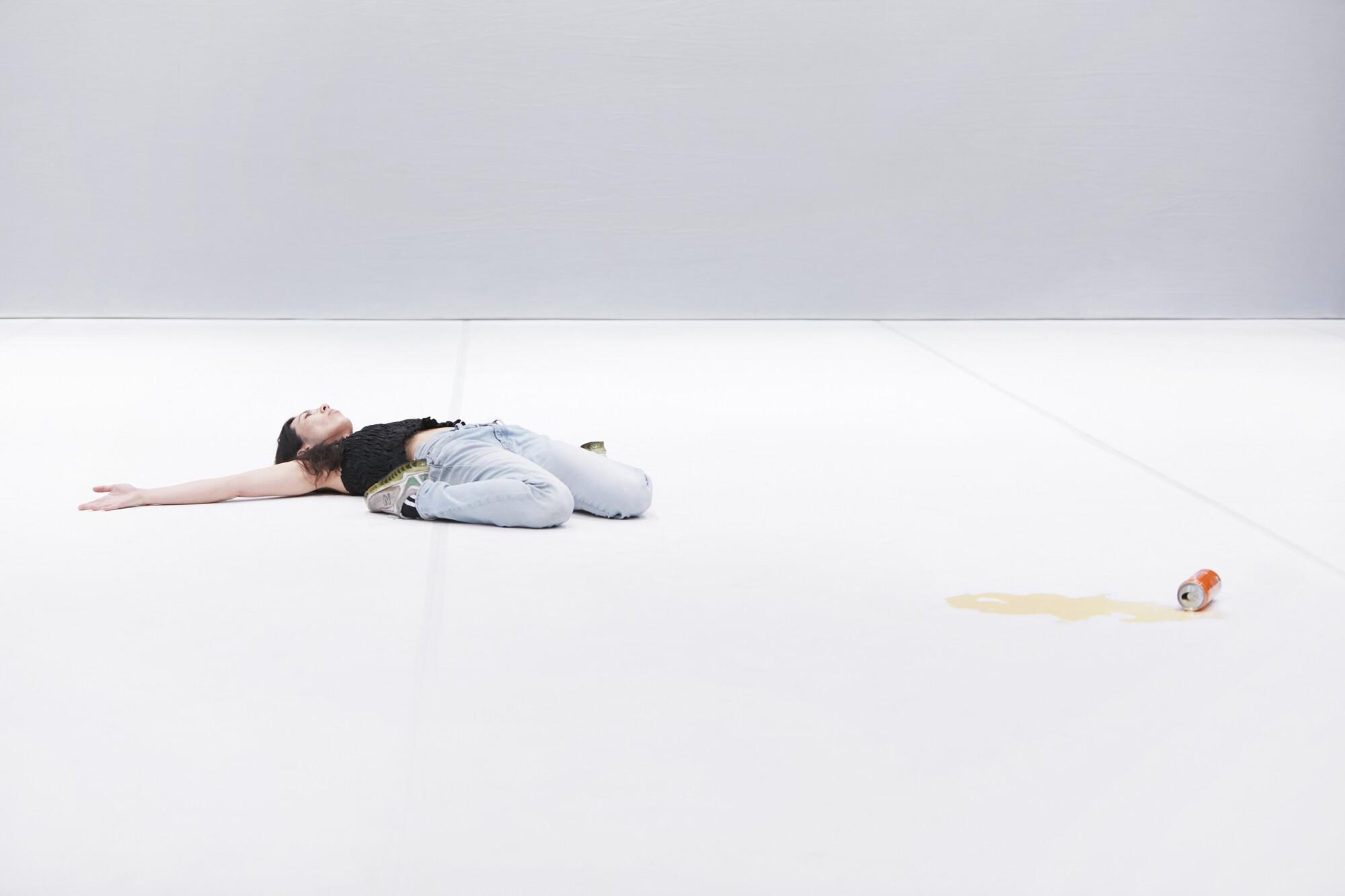 'Sky Blue Mythic' (2020), Angela Goh. Photo by Zan Wimberley.